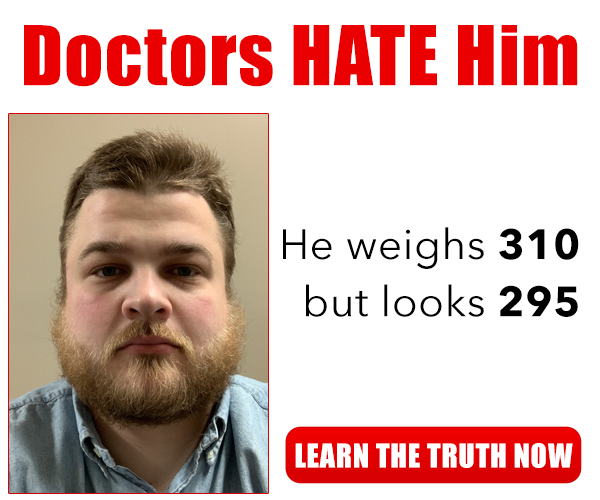 doctors hate him!