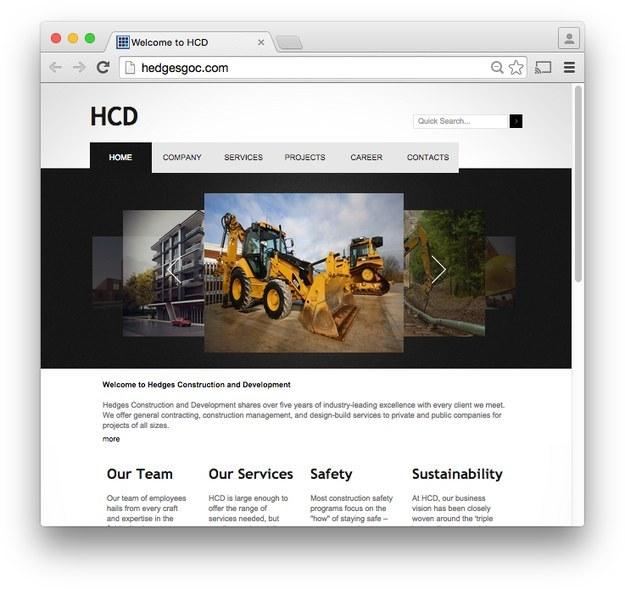 HCD's homepage